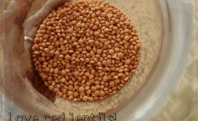 Love red lentils!