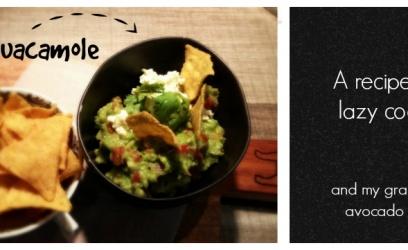 Guacamole: a simple recipe