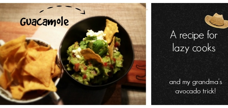 Guacamole: a simple recipe