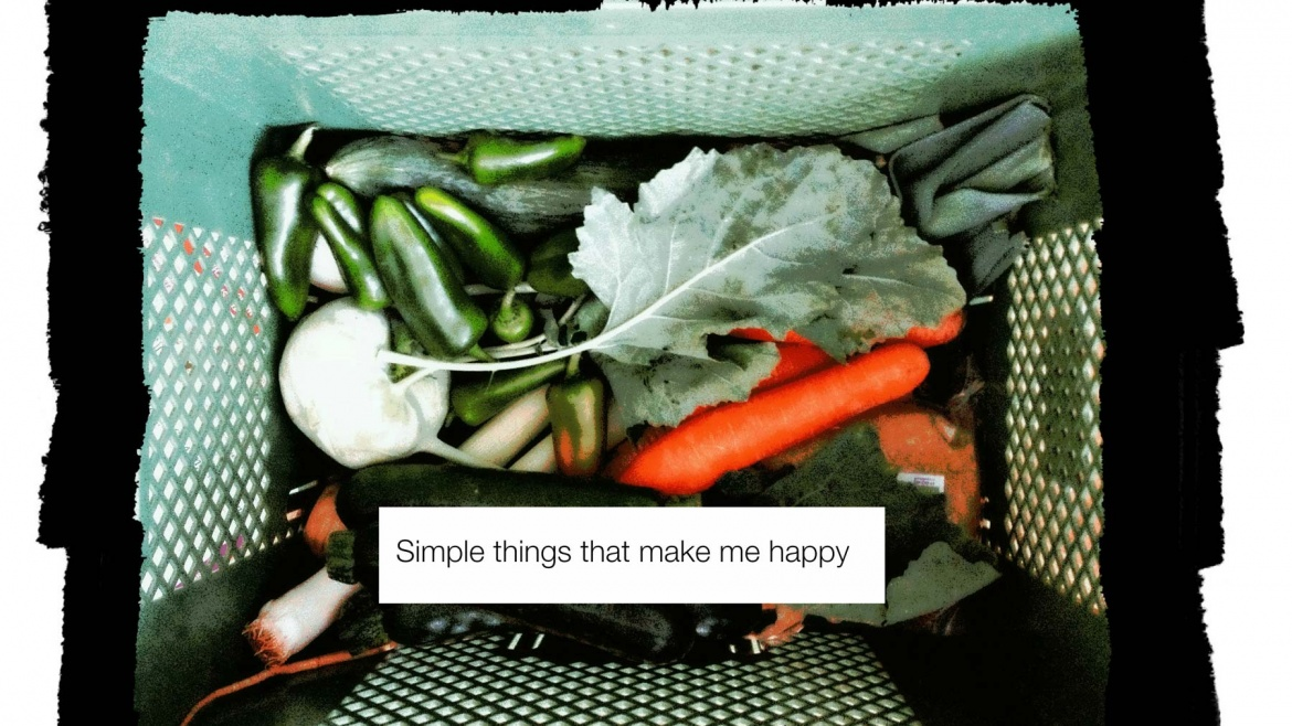 Simple things that make me happy- Part I